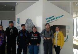Волонтеры на Байкале